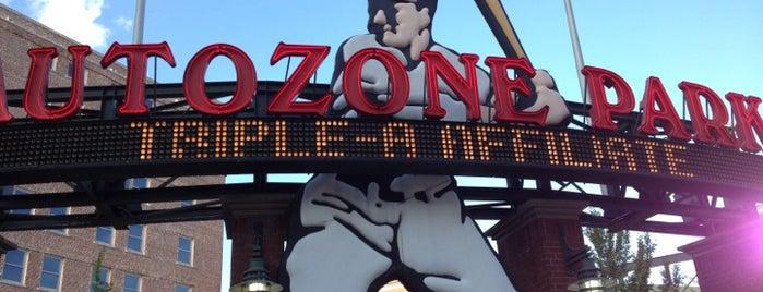AutoZone Park is one of baseball <3.