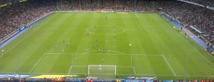 Camp Nou is one of Stadiums.