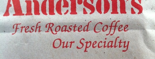 Anderson's Coffee Co is one of Confessions of a Fresh Brew Expert.