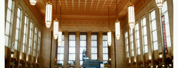30th Street Station (ZFV) is one of New Jersey Transit Train Stations.