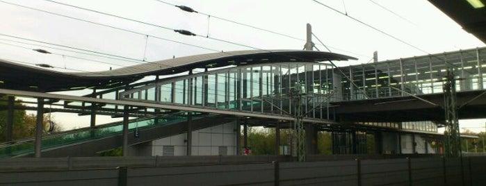 Bahnhof Düsseldorf Flughafen is one of Bahnhöfe DB.