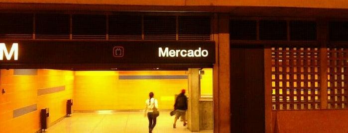 Metro - Mercado is one of Sistema Metro de Caracas - Linea 3.