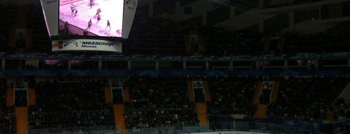 Дворец спорта «Мегаспорт» is one of JYM Hockey Arenas TOP100.
