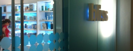 Bliss Spa is one of NYC's Soho.