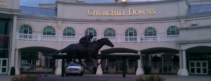 Churchill Downs is one of Guide to Louisville's best spots.