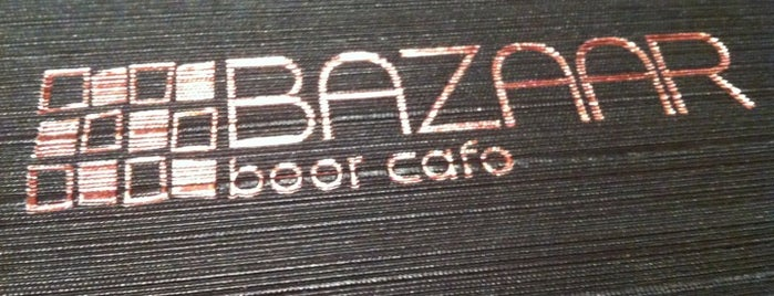Bazaar Beer Cafe is one of Must-visit Cafés in St Leonards.