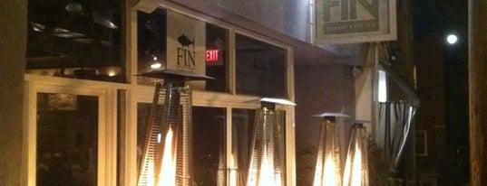 Fin Restaurant & Raw Bar is one of Restaurants.