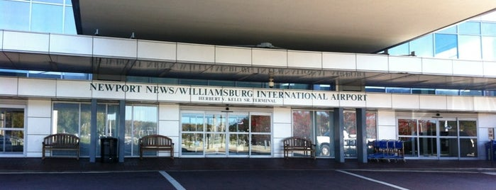 Newport News/Williamsburg International Airport (PHF) is one of Airports been to.
