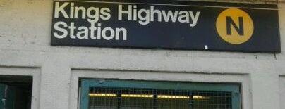 MTA Subway - Kings Highway (N) is one of MTA Subway - N Line.