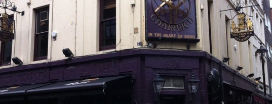 The Crown & Two Chairmen is one of Soho Pubs & Bars.