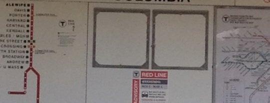 MBTA JFK/UMass Station is one of Boston MBTA Stations.