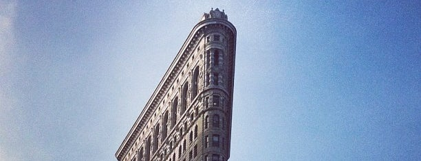 Flatiron Building is one of Buildings.