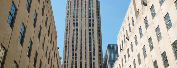 Rockefeller Center is one of Buildings.