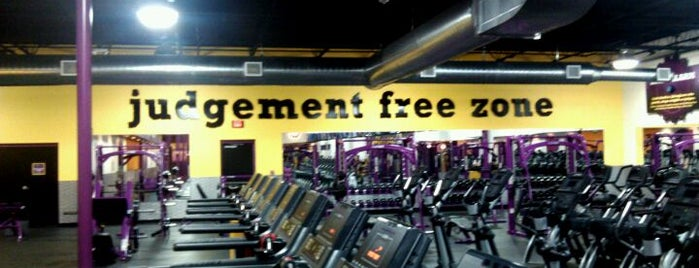 Planet Fitness is one of Commute.