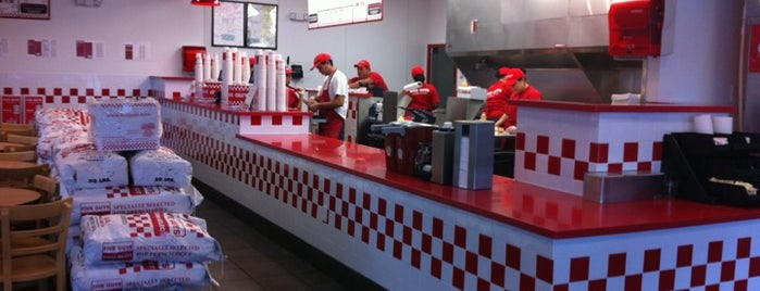 Five Guys is one of Favorite Restaurants.