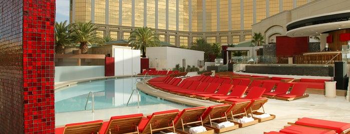 Moorea Beach Club is one of Vegas.