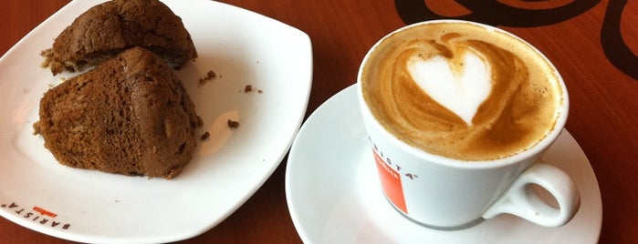 Barista Lavazza is one of Bangalore Cafes.