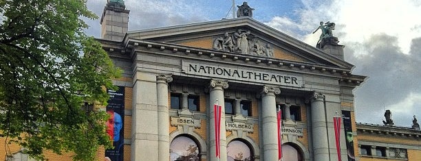 Nationaltheatret is one of Oslo City Badge - Kollen Roar.