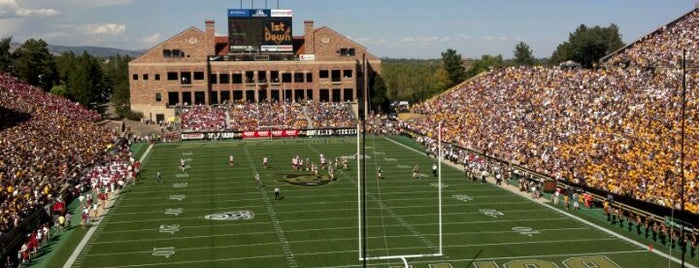 Folsom Field is one of Top Picks for Sports Stadiums/Fields/Arenas.