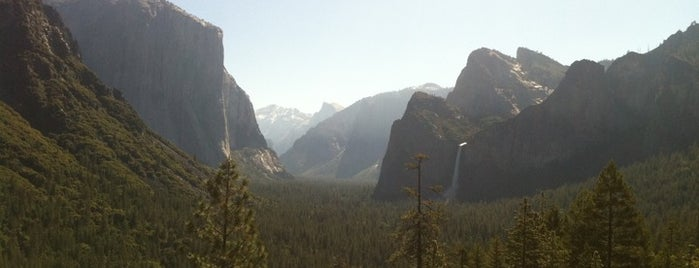 Yosemite National Park is one of U.S. National Parks.