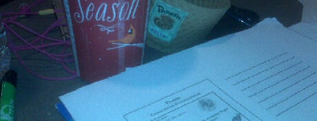 Panera Bread is one of Best places to study off-campus.