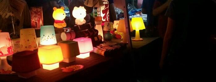Setia Alam Night Flea Market (Pasar Malam) is one of Cool KL.