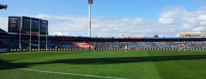 AAMI Stadium is one of Soccer.