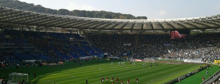 Stadio Olimpico is one of La Dolce Vita - Roma #4sqcities.