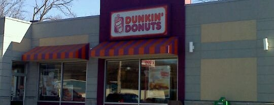 Dunkin Donuts is one of Places I Frequent.