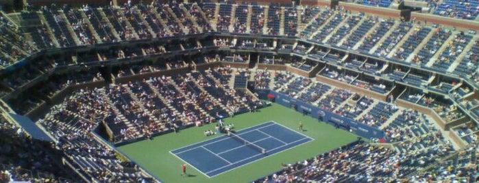 Arthur Ashe Stadium - USTA Billie Jean King National Tennis Center is one of Top Picks for Sports Stadiums/Fields/Arenas.