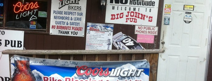 Big John's Pub is one of Motorcycle Destinations NJ PA NY.