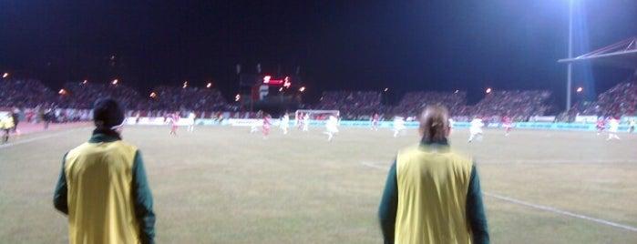 DVTK Stadion is one of Stadionok.
