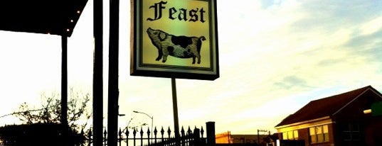 Feast is one of Houston Press 2012 - 100 Favorite Dishes.