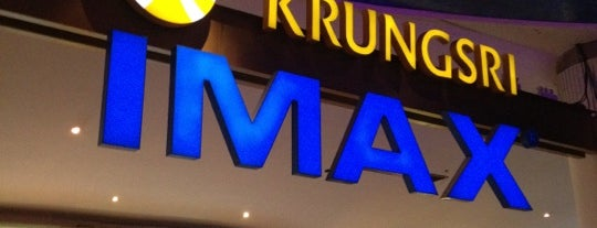 Krungsri IMAX Digital 3D is one of Theaters.