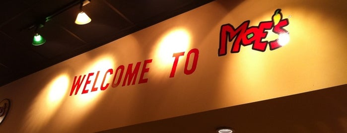 Moe's Southwest Grill is one of Best Food in BloNo.