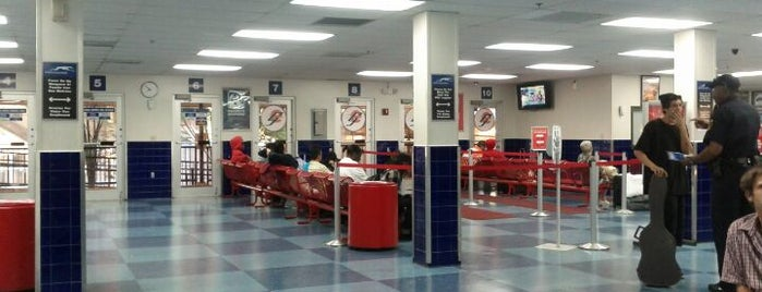 Greyhound Bus Lines is one of my places...