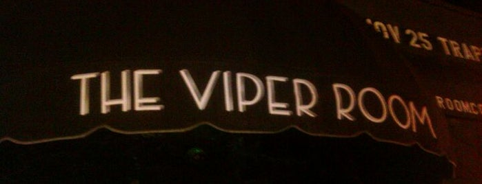 The Viper Room is one of Best Live Music Venues.