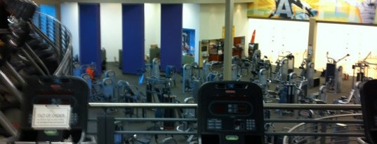 LA Fitness is one of most time spent.