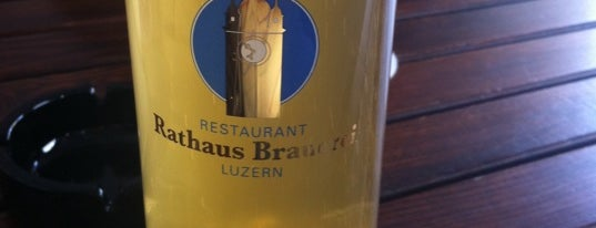 Rathaus Brauerei is one of Lozärner Fasnacht 2012.