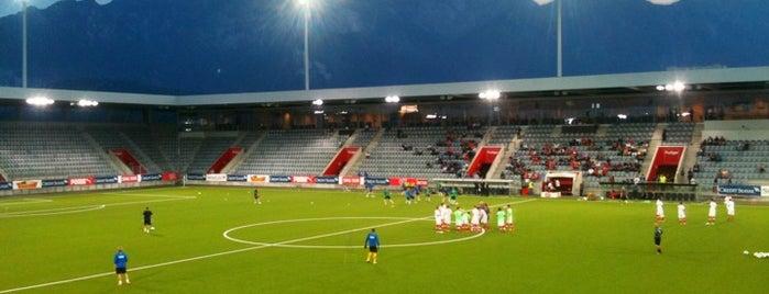 Fussballstadien Schweiz