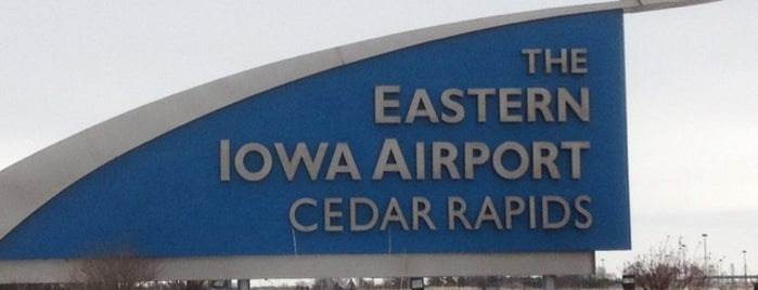 The Eastern Iowa Airport (CID) is one of Airports.