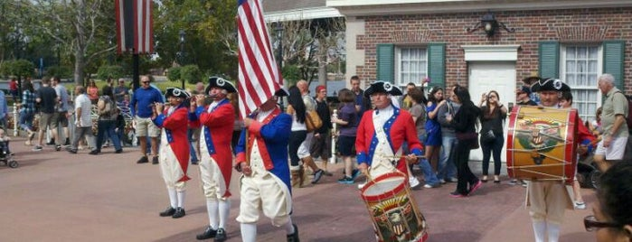 American Adventure Pavilion is one of Drink Around The World.