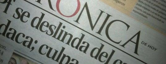 La Crónica is one of Medios del DF.