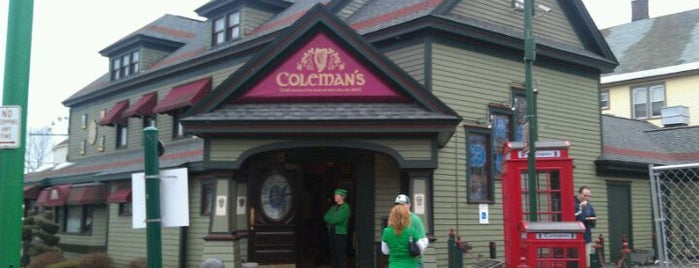 Coleman's Authentic Irish Pub is one of Ash's 'Cuse Hot Spots.