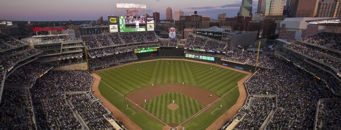 Target Field is one of Ballparks.