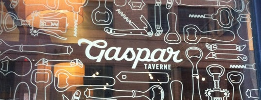 Taverne Gaspar is one of Montreal City Guide.