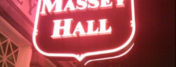 Massey Hall is one of Top picks for Music Venues.