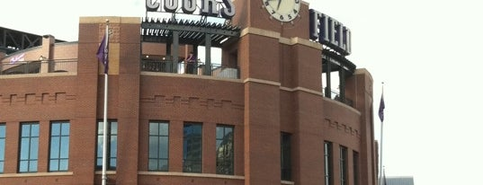 Coors Field is one of Sport Staduim.