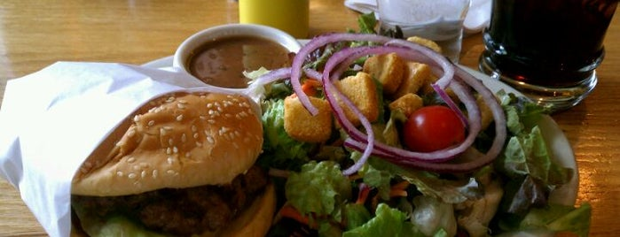 Burgers - Mammoth Lakes is one of Places from the reporting trail.