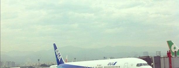 臺北松山機場 Taipei Songshan Airport (TSA) is one of Taipei 臺北市.